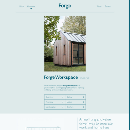 Forge | Building a lighter life