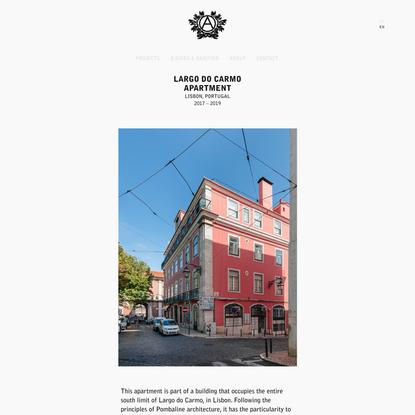 Aurora Arquitectos – Largo do Carmo Apartment