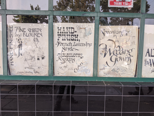 Sherman Cleaners Posters, Oakland CA