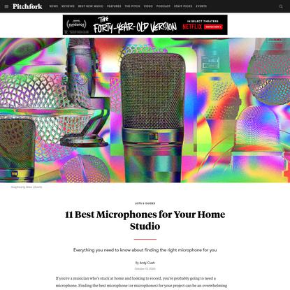 11 Best Microphones for Your Home Studio