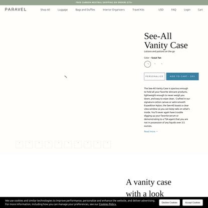 See-All Vanity Case