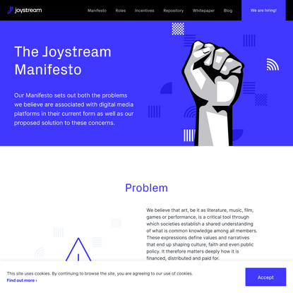 Joystream: The video platform DAO