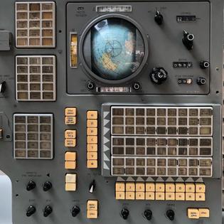 Soyuz control panel