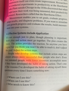Effective Systems