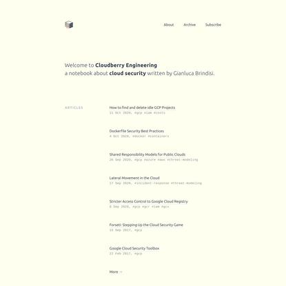 Cloudberry Engineering