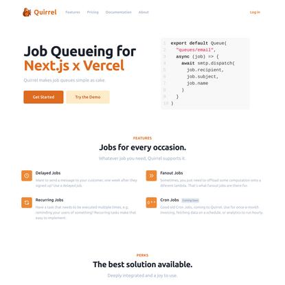 Job Queueing for Next.js x Vercel