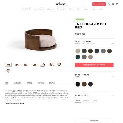 Tree Hugger Pet Bed