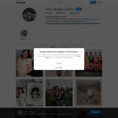 Latinx Family Photo Archives (@latinx_diaspora_archives) • Instagram photos and videos