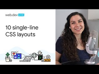 10 modern layouts in 1 line of CSS