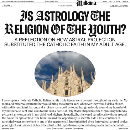 Is Astrology the Religion of the Millennial Generation?