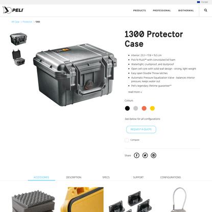 1300 Protector Case   Peli