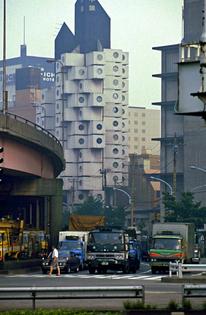 Nakagin Capsule Tower, Ginza, Tokyo (Kisho Kurokama, 1981)