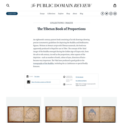 The Tibetan Book of Proportions