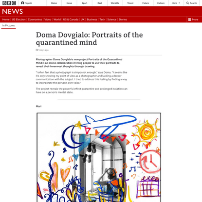 Doma Dovgialo: Portraits of the quarantined mind