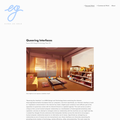 Queering Interfaces — elena gold