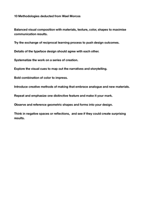 wael-morcos-presentation-methodologies-updated.pdf