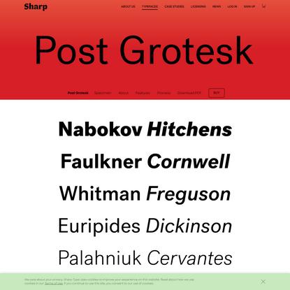 Post Grotesk