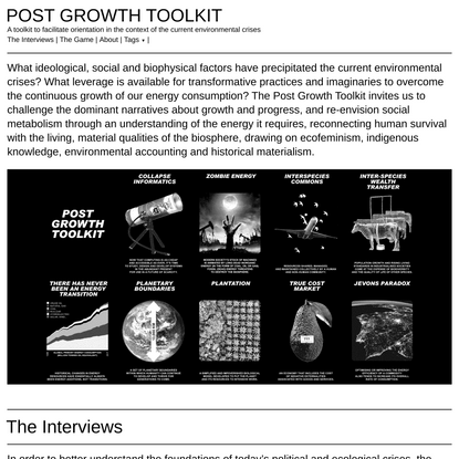 POST GROWTH TOOLKIT