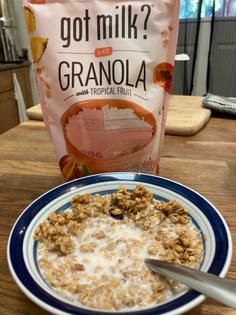 Got Milk? Brand Granola with Tropical Fruit