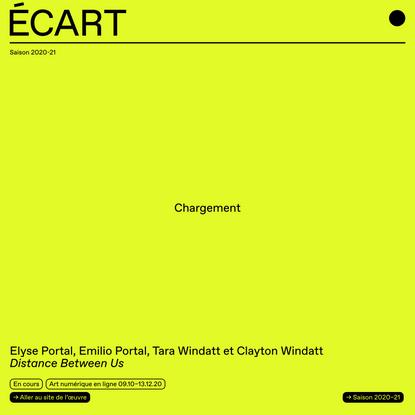 Écart | art actuel