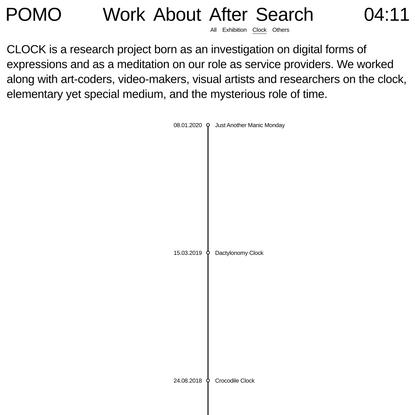 Clock Archives - POMO
