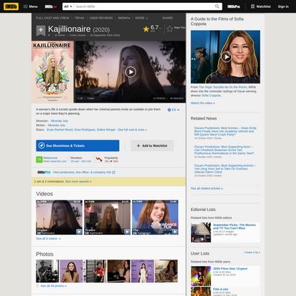 Kajillionaire (2020) - IMDb