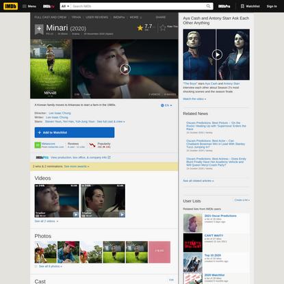 Minari (2020) - IMDb