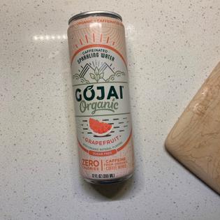 Caffeinated Sparkling Water Grapefruit Flavor $1