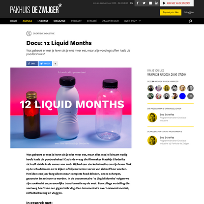 Docu: 12 Liquid Months