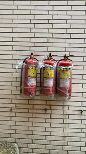 Public Fire Extinguisher in Taiwan