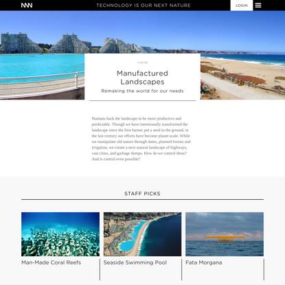 NNN / Manufactured Landscapes