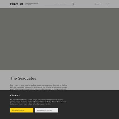 The Graduates | It's Nice That