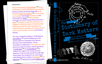 The Dictionary of Dark Matters