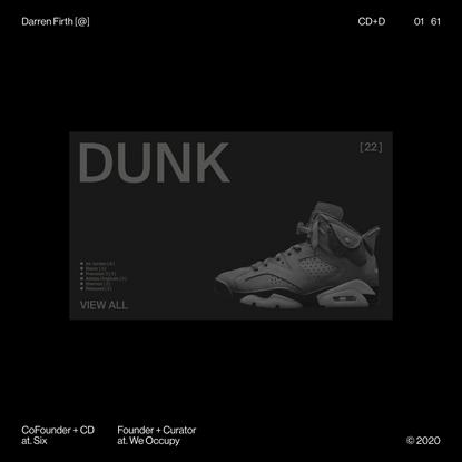 Darren Firth — Design + Art Direction + Curation
