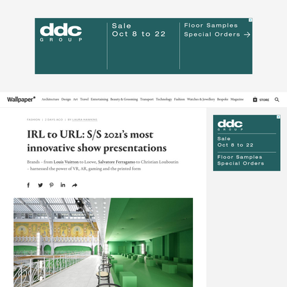 IRL to URL: S/S 2021's most innovative show presentations