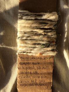 Compost yarn