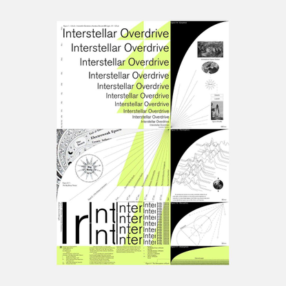 "Lee Raedong's Instagram photo: ""<Interstellar Overdrive>, A1 검정, 별색 2도 인쇄 전시장에서 구매 가능합니다. . 핑크 플로이드의 초기 사이키델릭 사운드가 잘 담겨 있는 곡..."