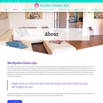 About Psychic Chakra Spa - Psychic Chakra Spa