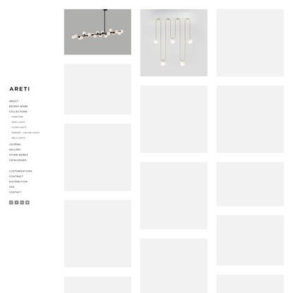 Pendant / Ceiling Lights — ATELIER ARETI