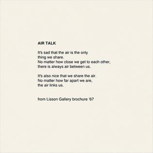 Yoko Ono - Air Talk