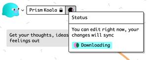 redesigned to match offline dialog