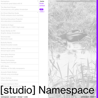 namespace : concept + design + code