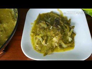 Sardina en salsa verde