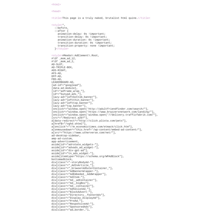 This page is a truly naked, brutalist html quine.