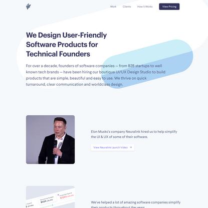 Fairpixels.pro - UI/UX Design for Software as a Service Companies
