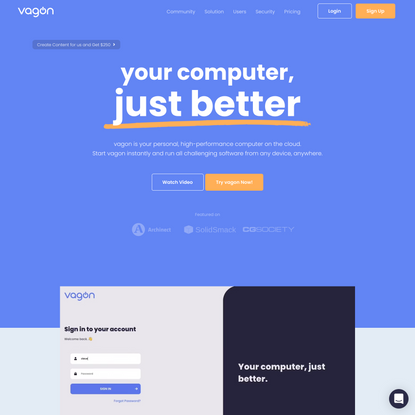 vagon | your computer, just better