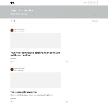 parsh collective – Medium