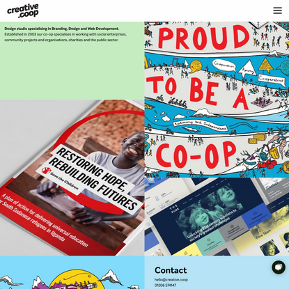 Creative Coop   Colchester Web Design, Branding and Print