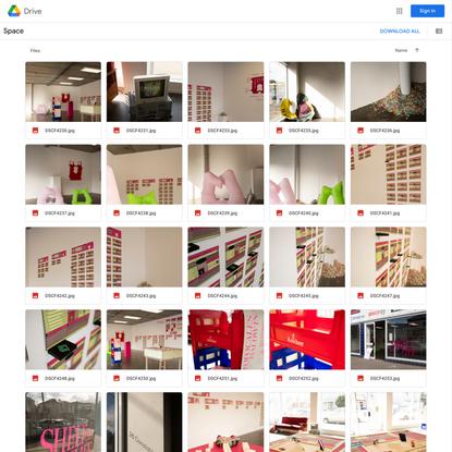 Space - Google Drive