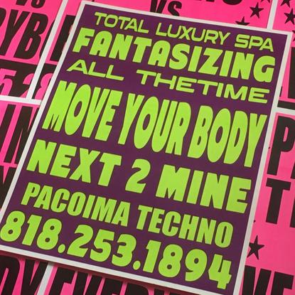 "Pacoima Techno's Instagram profile post: ""Heavens the party, we're the dj's @pacoimatechno x @totalluxuryspa dropping 11.26...."